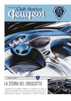 rivista club storico peugeot 2016 n° 3