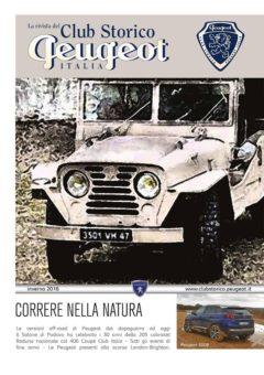 rivista club storico peugeot 2016 n° 4